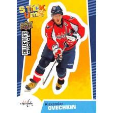 Ovechkin Alexander - 2009-10 Collectors Choice Stick-Ums No.SU29
