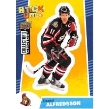 Alfredsson Daniel - 2009-10 Collectors Choice Stick-Ums No.SU18
