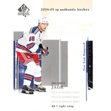 Jágr Jaromír - 2004-05 SP Authentic No.57