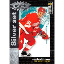 Fedorov Sergei - 1995-96 Collectors Choice Crash the Game Silver Prize No.C2