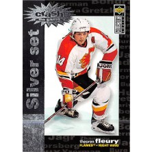 Fleury Theoren - 1995-96 Collectors Choice Crash the Game Silver Prize No.C11