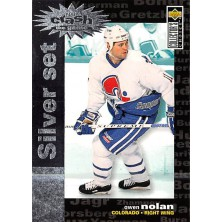 Nolan Owen - 1995-96 Collectors Choice Crash the Game Silver Prize No.C12
