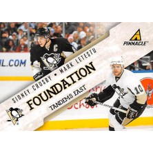 Crosby Sidney, Letestu Mark - 2011-12 Pinnacle Foundation Tandems East No.8