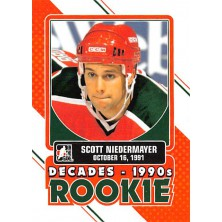 Niedermayer Scott - 2013-14 ITG Decades 1990s Rookies No.DR-11