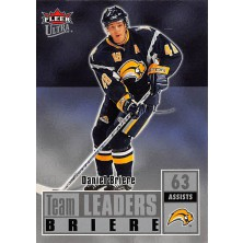 Briere Daniel - 2007-08 Ultra Team Leaders No.TL27