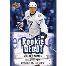 Hedman Victor - 2009-10 Upper Deck Rookie Debuts No.RD3