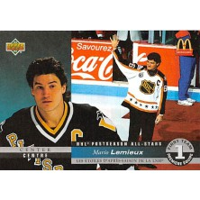 Lemieux Mario - 1993-94 McDonalds Upper Deck 1st Team All-Star No.McH-01