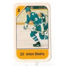 Šťastný Anton - 1982-83 Post Cereal