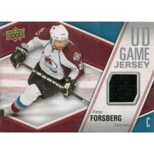 Forsberg Peter - 2011-12 Upper Deck Game Jerseys No.GJ-PF