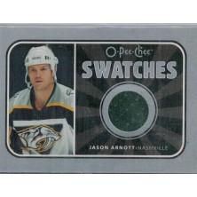 Arnott Jason - 2006-07 O-Pee-Chee Swatches No.S-JA