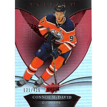 McDavid Connor - 2018-19 Trilogy Red No.25