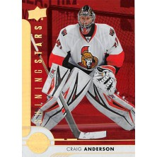 Anderson Craig - 2017-18 Upper Deck Shining Stars Red No.SSG-2