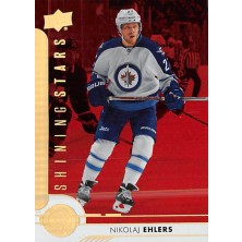 Ehlers Nikolaj - 2017-18 Upper Deck Shining Stars Red No.SSL-9