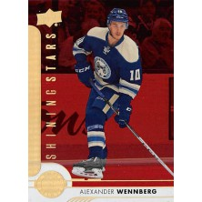 Wennberg Alexander - 2017-18 Upper Deck Shining Stars Red No.SSC-2