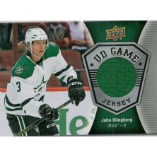 Klingberg John - 2016-17 Upper Deck Game Jerseys No.GJ-KL