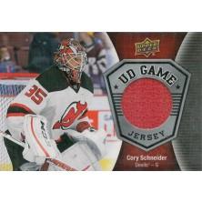 Schneider Cory - 2016-17 Upper Deck Game Jerseys - red No.GJ-CS