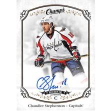 Stephenson Chandler - 2015-16 Champs Autographs No.161