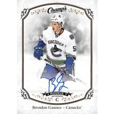 Gaunce Brendan - 2015-16 Champs Autographs No.163