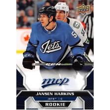 Harkins Jansen - 2020-21 MVP Factory Set Blue No.220