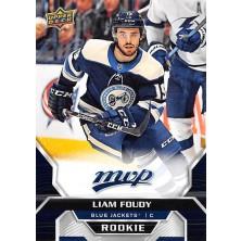 Foudy Liam - 2020-21 MVP Factory Set Blue No.248