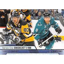Crosby Sidney, Pavelski Joe - 2016-17 Upper Deck No.199
