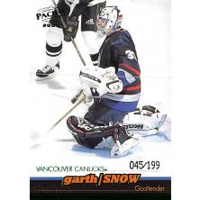Snow Garth - 1999-00 Pacific Emerald Green No.433