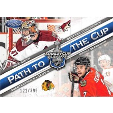 Smith Mike, Seabrook Brent - 2012-13 Certified Path to the Cup Quarter Finals No.PCQF16