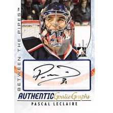 Leclaire Pascal - 2007-08 Between The Pipes Autographs No.A-PL