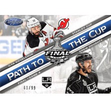 Kovalchuk Ilya, Doughty Drew - 2012-13 Certified Path to the Cup Stanley Cup Finals No.PSCF4