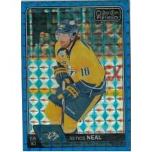 Neal James - 2016-17 O-Pee-Chee Platinum Royal Blue Cubes No.48