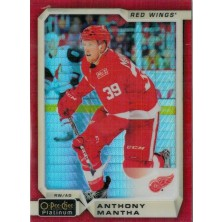 Mantha Anthony - 2018-19 O-Pee-Chee Platinum Red Prism No.123