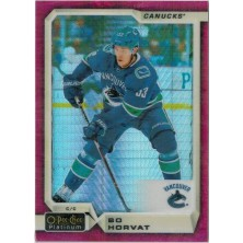 Horvat Bo - 2018-19 O-Pee-Chee Platinum Red Prism No.61