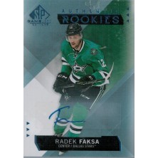 Faksa Radek - 2015-16 SP Game Used Autographs Blue No.183