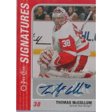 McCollum Thomas - 2011-12 O-Pee-Chee Signatures No.OS-TM