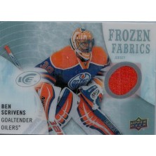 Scrivens Ben - 2014-15 Ice Frozen Fabrics No.FZF-BS