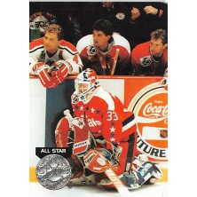 Beaupre Don, Stevens Scott, Hatcher Kevin, Muller Kirk - 1991-92 Pro Set Platinum No.281