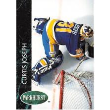 Joseph Curtis - 1992-93 Parkhurst No.155