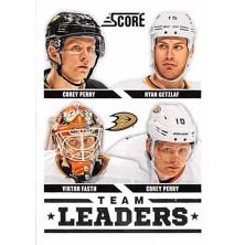 Perry Corey, Getzlaf Ryan, Fasth Viktor - 2013-14 Score No.551