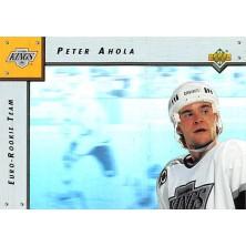 Ahola Peter - 1992-93 Upper Deck Euro-Rookie Team No.ERT4