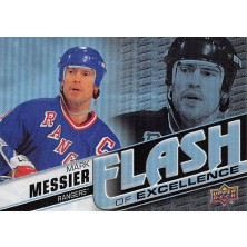 Messier Mark - 2015-16 Overtime Flash of Excellence No.FOE18
