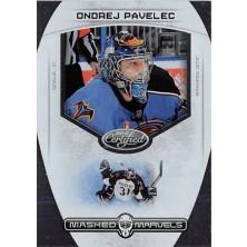 Pavelec Ondřej - 2011-12 Certified Masked Marvels No.14