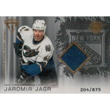 Jágr Jaromír - 2003-04 Titanium - blue No.170