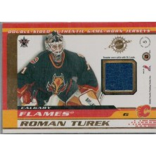 Turek Roman, Brathwaite Fred - 2001-02 Vanguard Memorabilia No.5