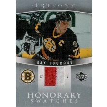 Bourque Ray - 2006-07 Trilogy Honorary Swatches red-white No.HS-BO