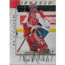 Thibault Jocelyn - 1997-98 Be A Player Autographs No.10