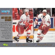 Thornton Joe, Cloutier Dan, Lowe Steven, Payette Andre - 1995-96 Classic No.95